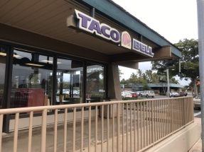Former Taco Bell Space Available 01/01/2020
